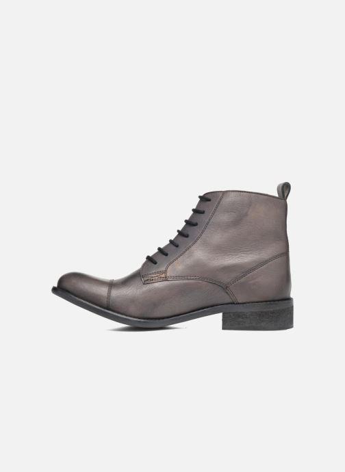 Boots en enkellaarsjes Pepe jeans Seymour Laces Zwart voorkant