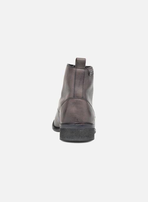 Boots en enkellaarsjes Pepe jeans Seymour Laces Zwart rechts