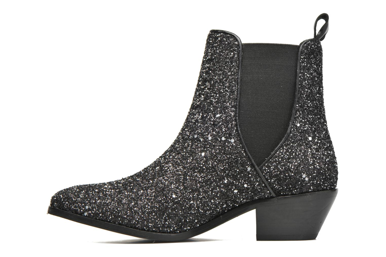 Ankle boots Pepe jeans Dina Party Silver front view