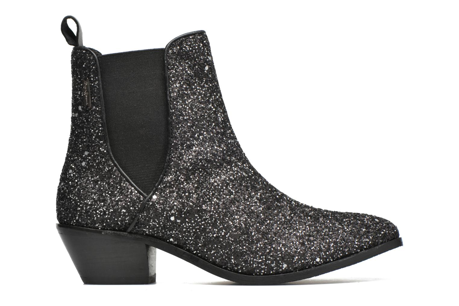 Ankle boots Pepe jeans Dina Party Silver back view