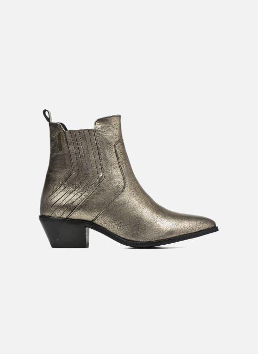 Boots en enkellaarsjes Pepe jeans Dina New Metal Goud en brons achterkant