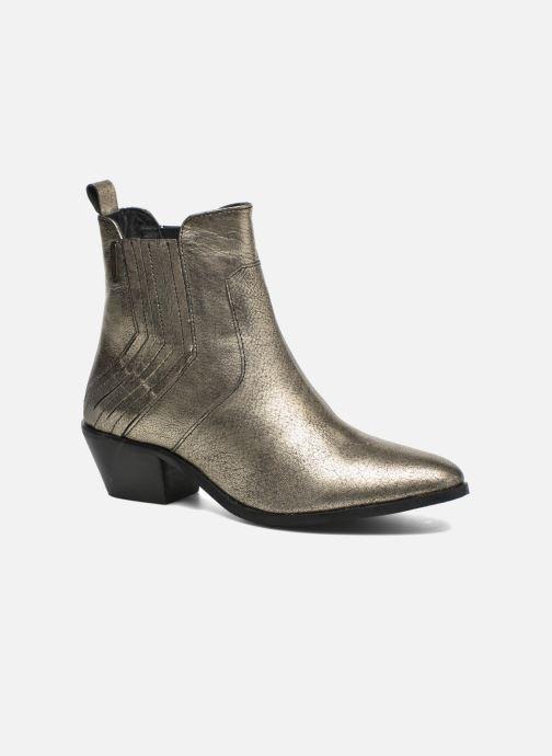 Bottines et boots Pepe jeans Dina New Metal Or et bronze vue détail/paire