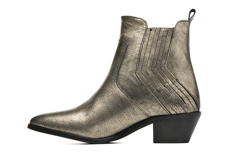 Botines  Pepe jeans Dina New Metal Oro y bronce vista de frente