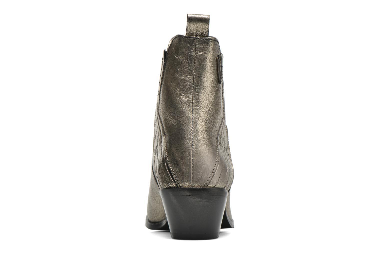 Stiefeletten & Boots Pepe jeans Dina New Metal gold/bronze ansicht von rechts
