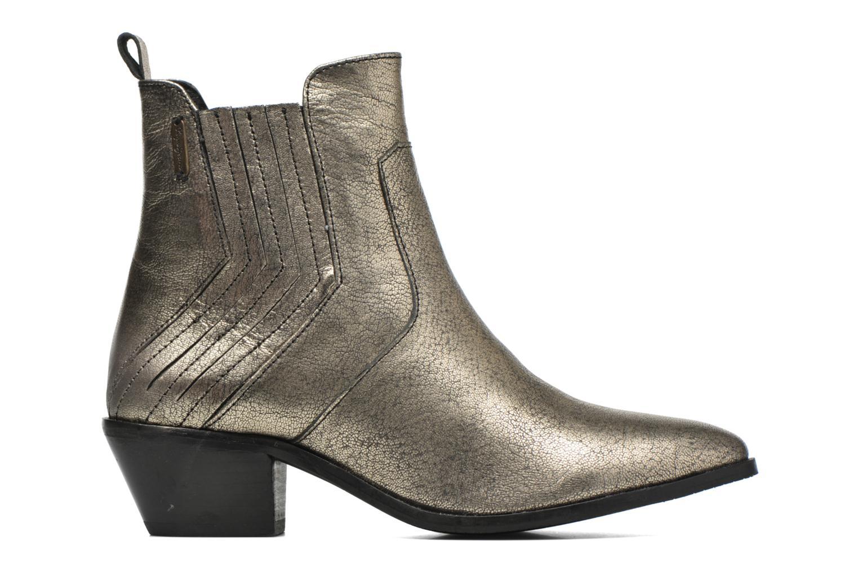 Botines  Pepe jeans Dina New Metal Oro y bronce vistra trasera