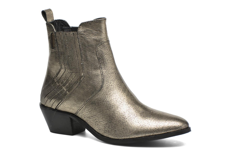 Botines  Pepe jeans Dina New Metal Oro y bronce vista de detalle / par