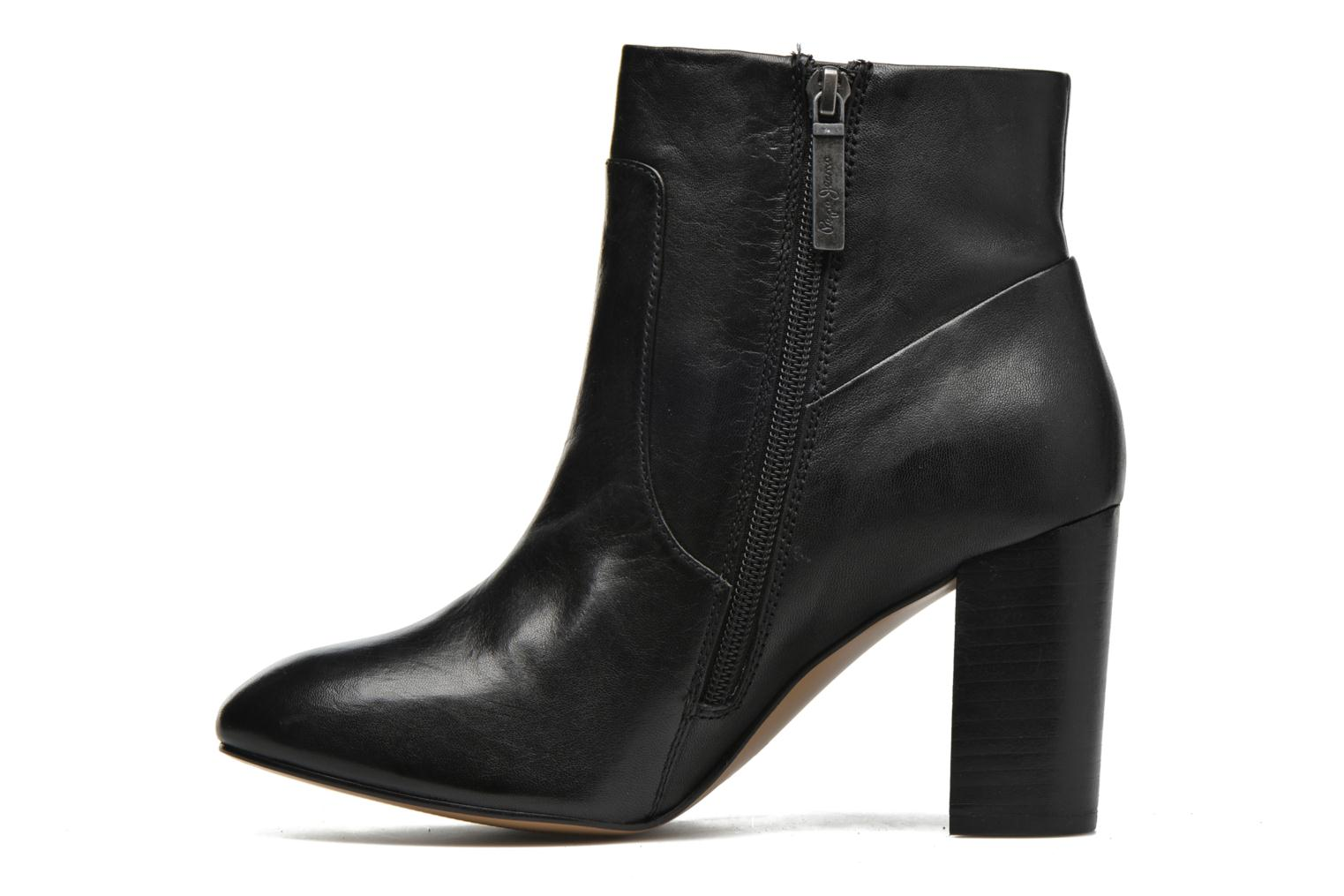 Ankle boots Pepe jeans Dylan Napa Black front view