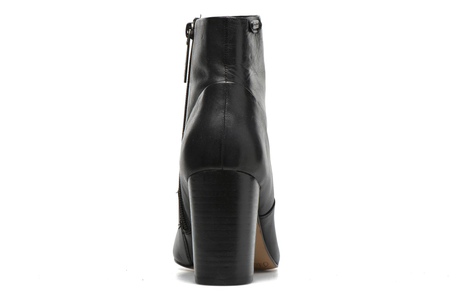 Ankle boots Pepe jeans Dylan Napa Black view from the right