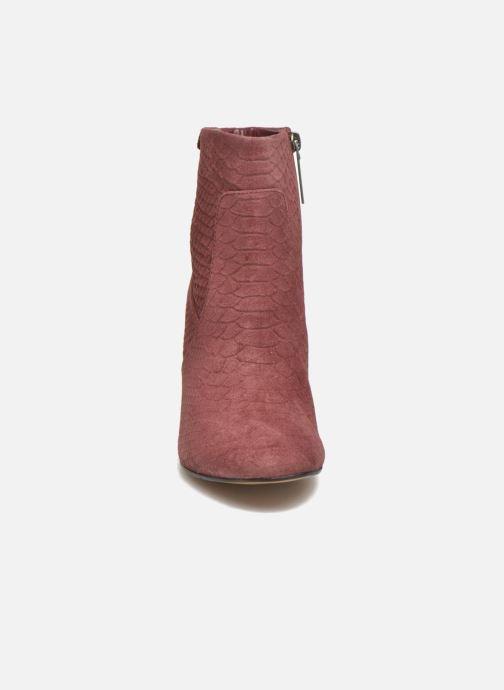 Bottines et boots Pepe jeans Dylan Basic Snake Bordeaux vue portées chaussures