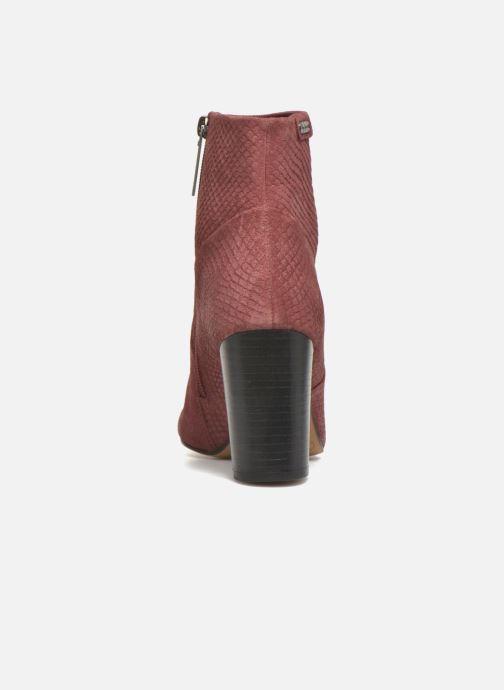 Bottines et boots Pepe jeans Dylan Basic Snake Bordeaux vue droite