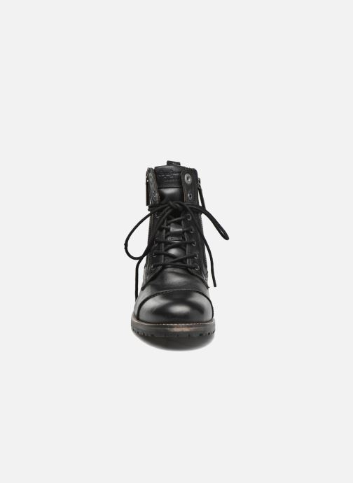 Ankle boots Pepe jeans Melting W. Zipper Black model view