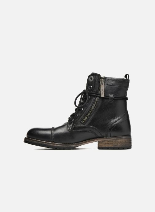 Ankle boots Pepe jeans Melting W. Zipper Black front view