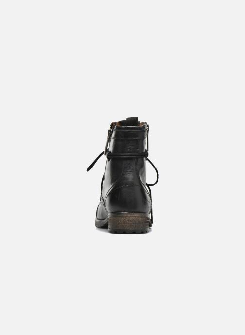 Ankle boots Pepe jeans Melting W. Zipper Black view from the right