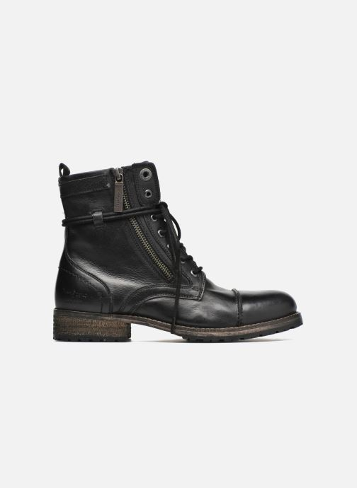 Ankle boots Pepe jeans Melting W. Zipper Black back view