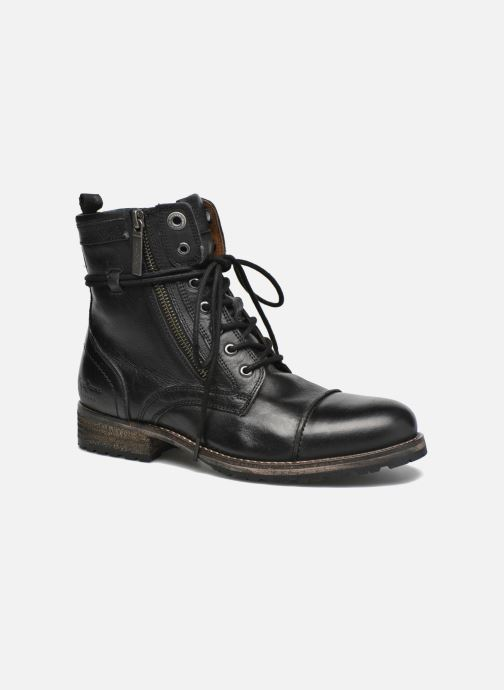 Ankle boots Pepe jeans Melting W. Zipper Black detailed view/ Pair view