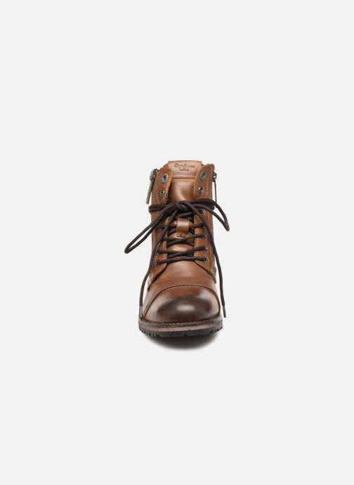 Bottines et boots Pepe jeans Melting W. Zipper Marron vue portées chaussures