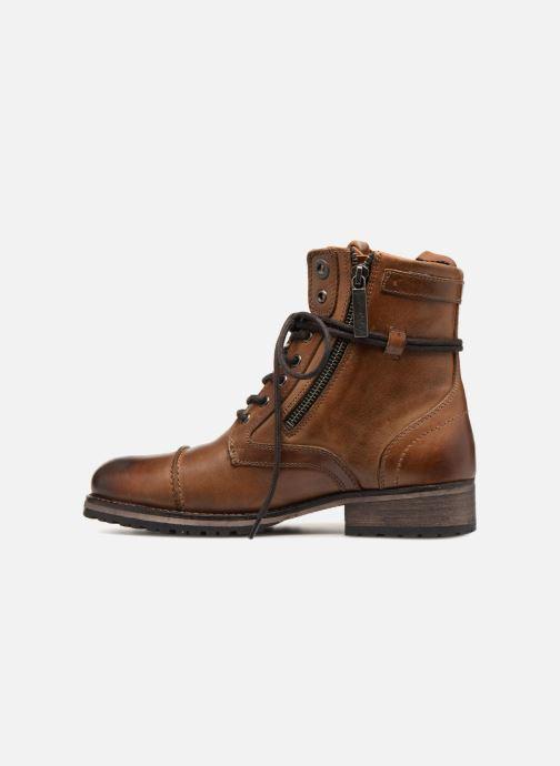 Bottines et boots Pepe jeans Melting W. Zipper Marron vue face