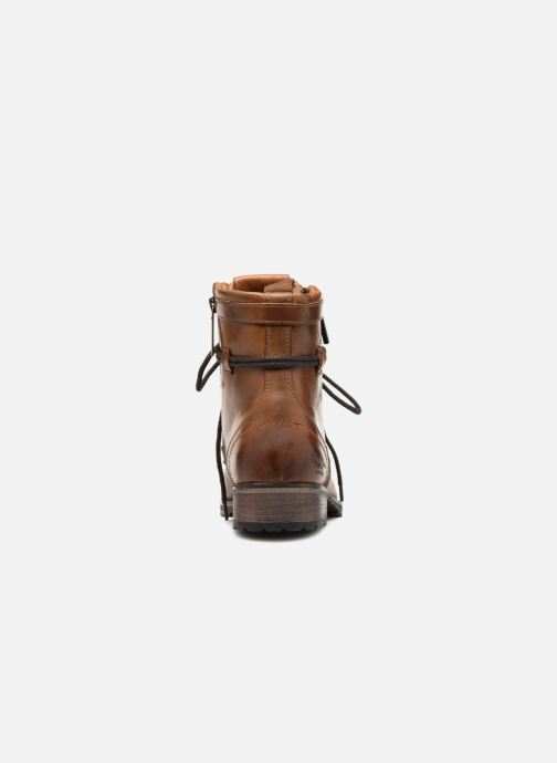 Bottines et boots Pepe jeans Melting W. Zipper Marron vue droite