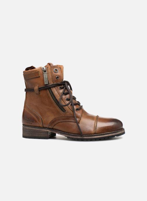 Bottines et boots Pepe jeans Melting W. Zipper Marron vue derrière
