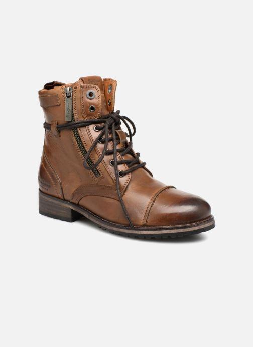 Bottines et boots Pepe jeans Melting W. Zipper Marron vue détail/paire