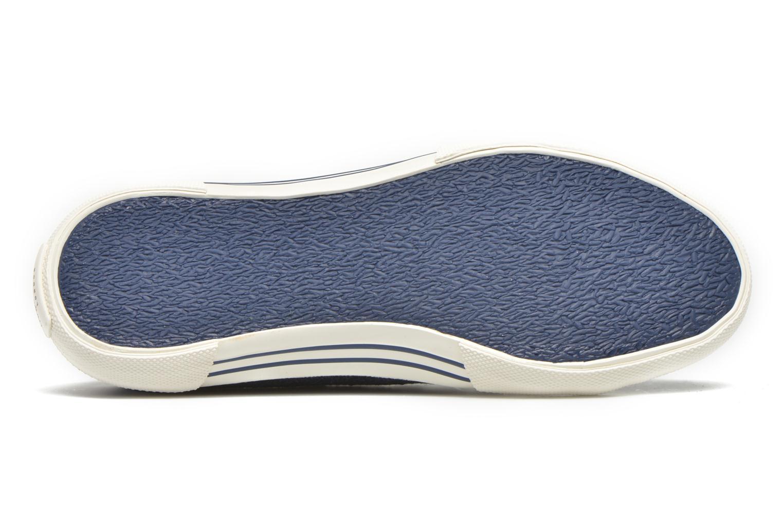 Deportivas Pepe jeans Aberlady Crackle Azul vista de arriba