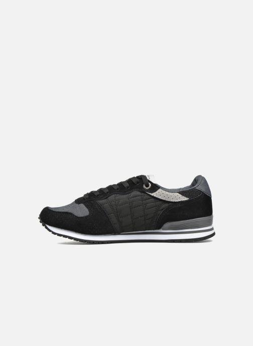 Sneakers Pepe jeans Gable Padding Zwart voorkant