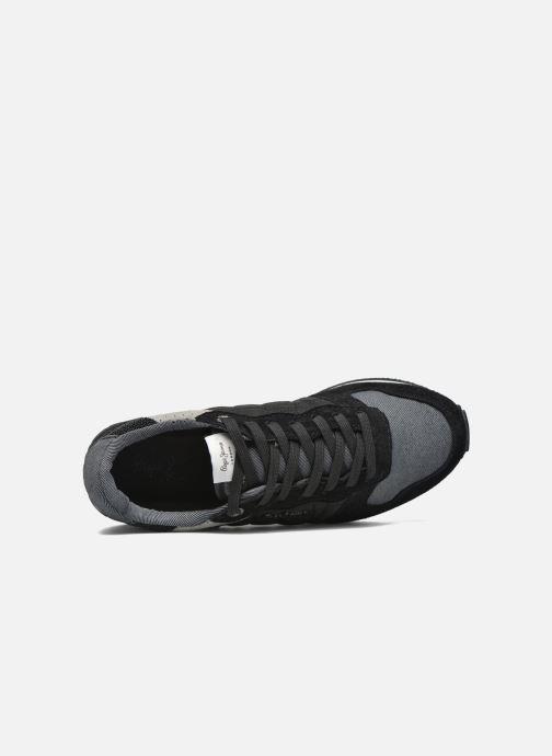 Baskets Pepe jeans Gable Padding Noir vue gauche