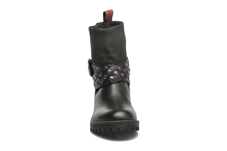 Bottines et boots Pepe jeans Helen Straps Noir vue portées chaussures