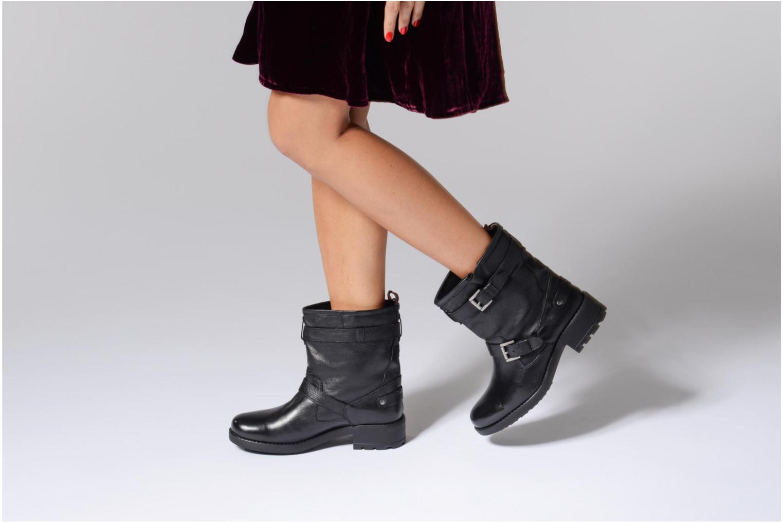 Bottines et boots Pepe jeans Agra Basic Noir vue bas / vue portée sac