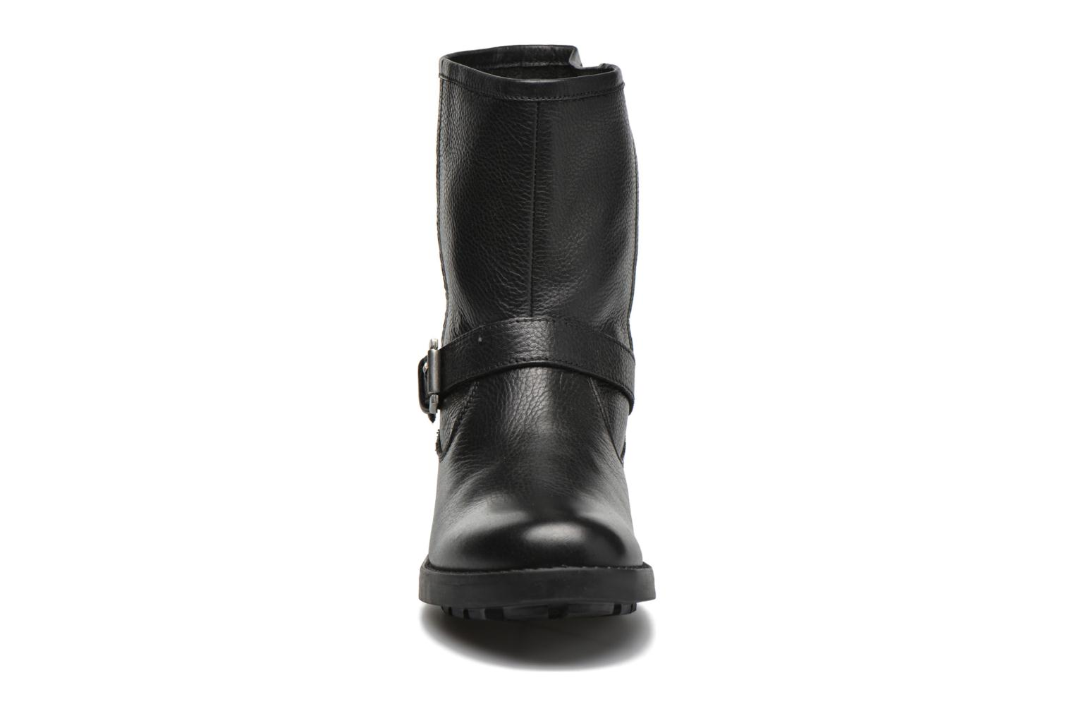 Ankle boots Pepe jeans Agra Solid Black model view