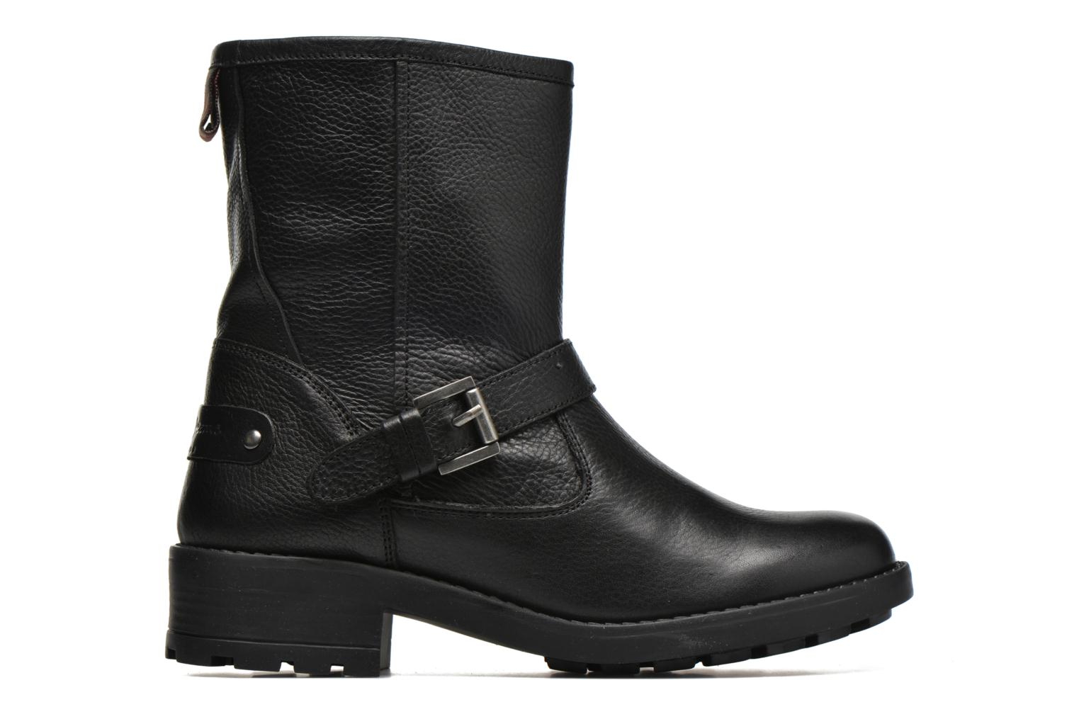 Ankle boots Pepe jeans Agra Solid Black back view