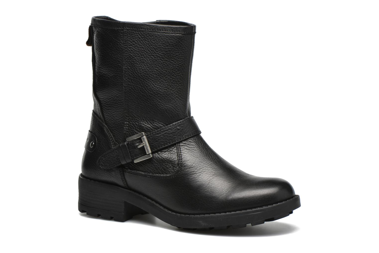 Ankle boots Pepe jeans Agra Solid Black detailed view/ Pair view