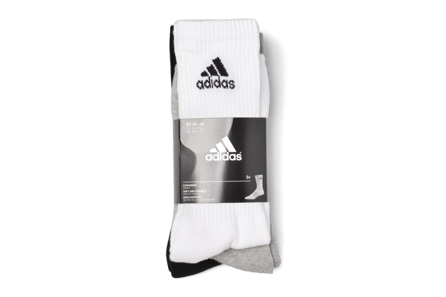 Socks & tights Adidas Performance 3S PER CR HC 3P White back view
