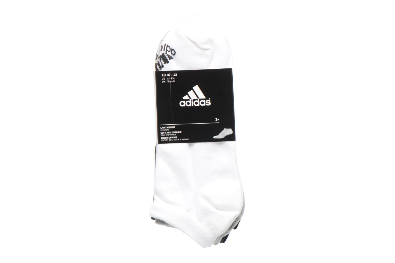 Chaussettes et collants Adidas Performance PER LA CREW T3P Blanc vue derrière