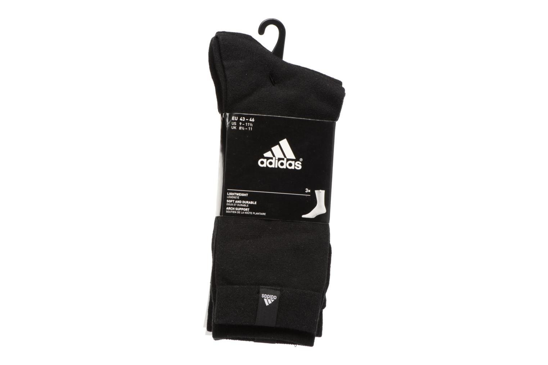 Chaussettes et collants Adidas Performance PER LA CREW T3P Noir vue portées chaussures