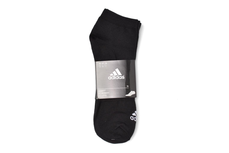 Chaussettes et collants Adidas Performance PER NO-SH T 3PP Noir vue derrière