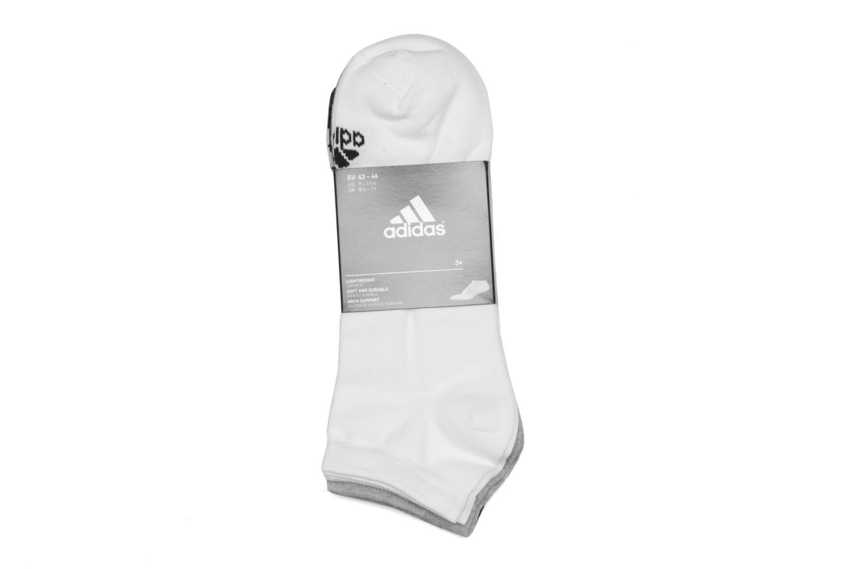 Chaussettes et collants Adidas Performance PER NO-SH T 3PP Blanc vue portées chaussures