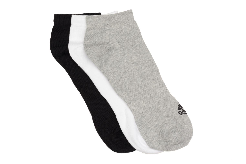 Chaussettes et collants Adidas Performance PER NO-SH T 3PP Blanc vue détail/paire