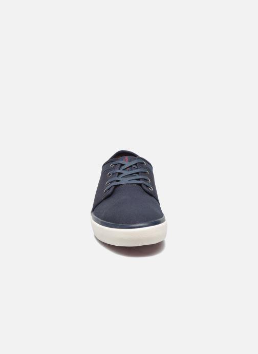 Sneaker Jack & Jones JJ Turbo Waxed Canvas blau schuhe getragen