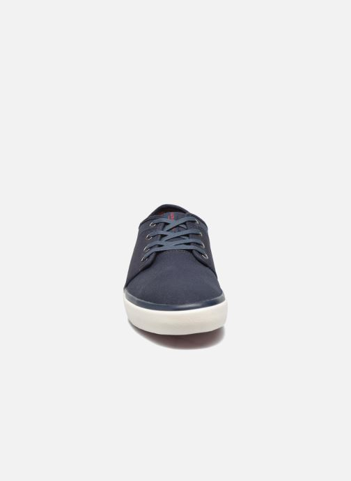 Baskets Jack & Jones JJ Turbo Waxed Canvas Bleu vue portées chaussures