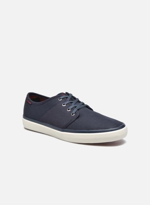 Baskets Jack & Jones JJ Turbo Waxed Canvas Bleu vue détail/paire