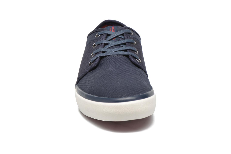 Baskets Jack & Jones JJ Turbo Waxed Canvas Bleu vue portées chaussures