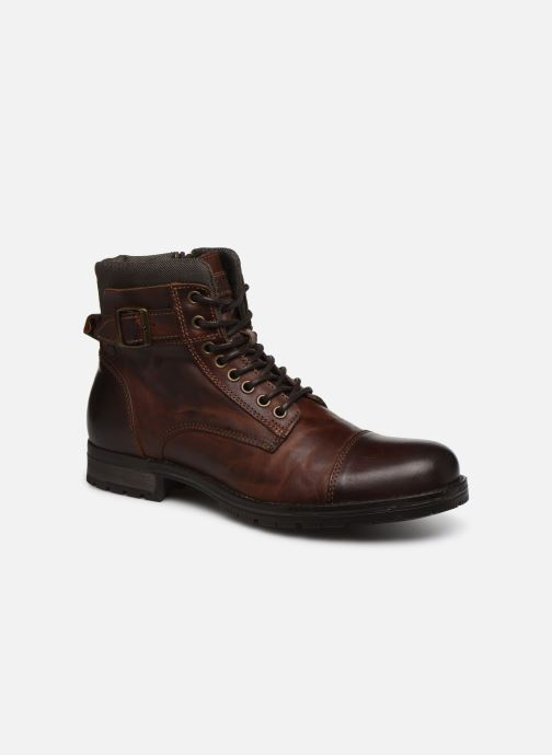 Bottines et boots Jack & Jones JJ Albany Marron vue détail/paire