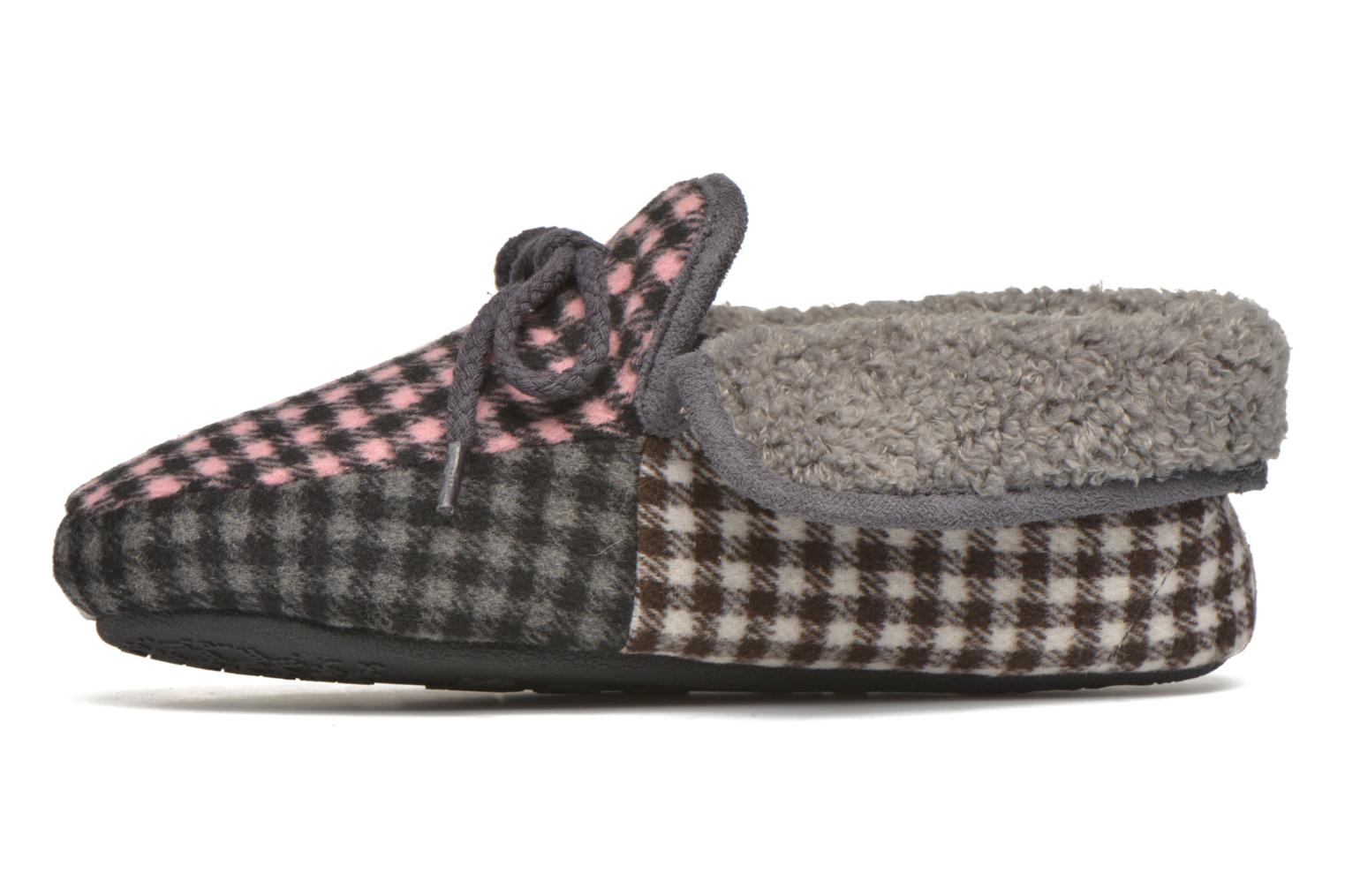Slippers Ruby Brown Sian Multicolor front view