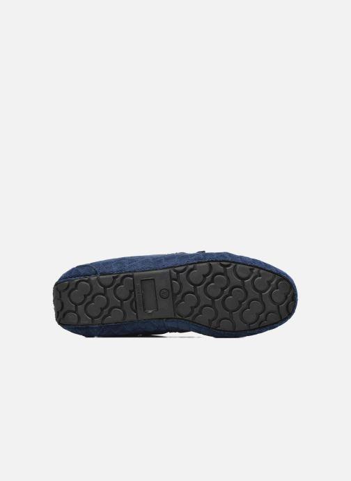 Pantofole Ruby Brown Finlay Azzurro immagine dall'alto