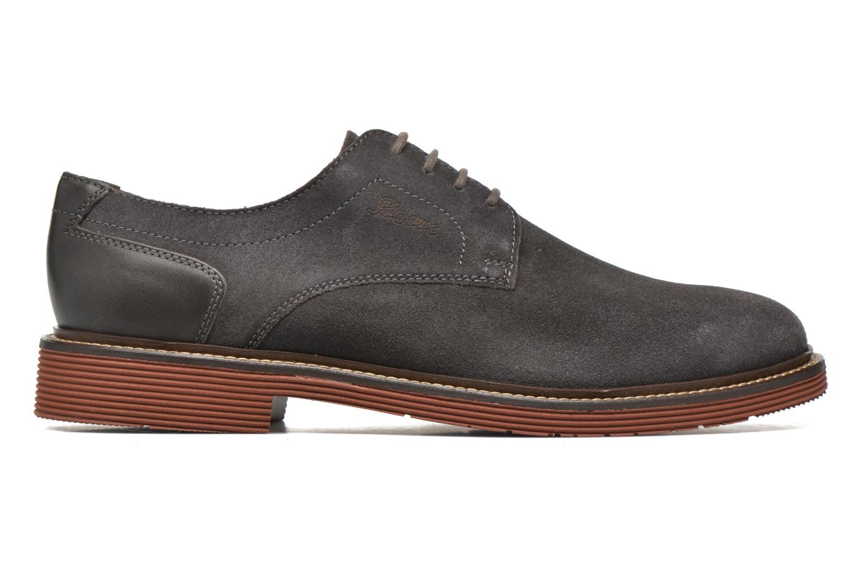 Chaussures à lacets Sioux Birgo Marron vue derrière