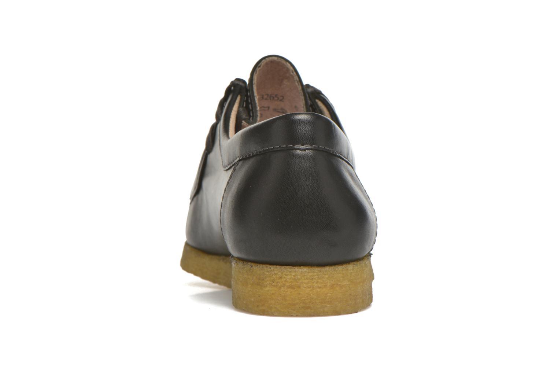 Chaussures à lacets Sioux Grashopper-H-141 Noir vue droite
