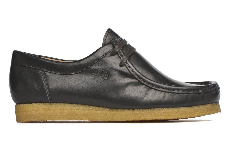 Chaussures à lacets Sioux Grashopper-H-141 Noir vue derrière