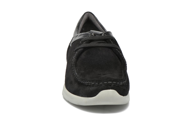 Chaussures à lacets Sioux Aiello Noir vue portées chaussures