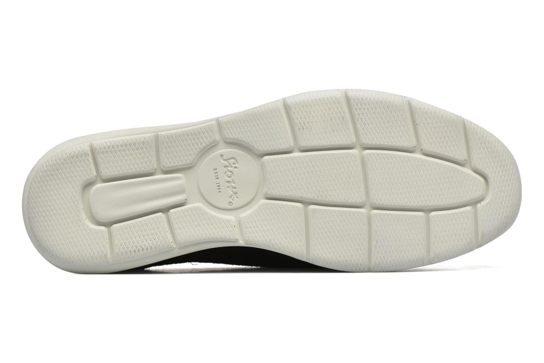 Chaussures à lacets Sioux Aiello Noir vue haut